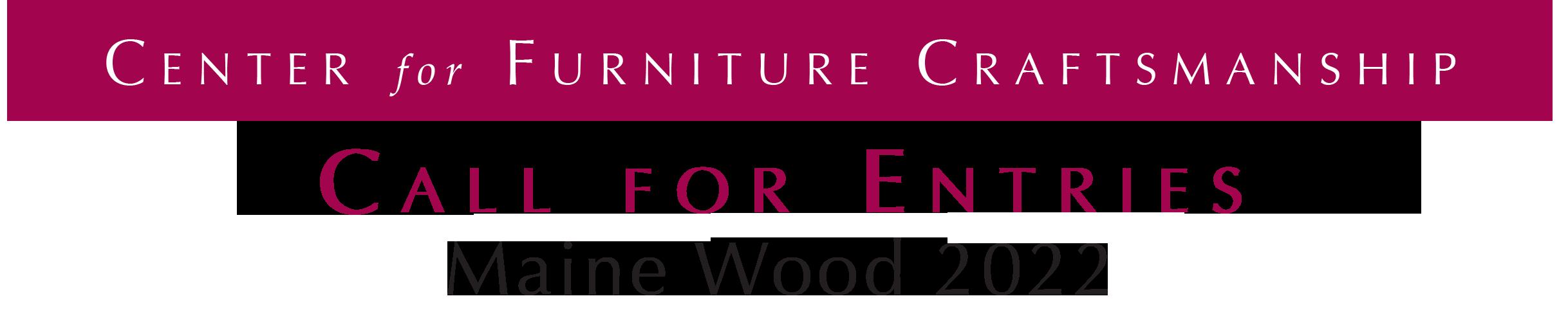Maine Wood 2020 Headline