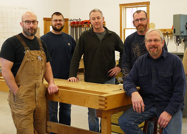 Veteran Benefits recipients in our Furniture Intensive, Turning Intensive and Nine-month Comprehensive, Spring 2014