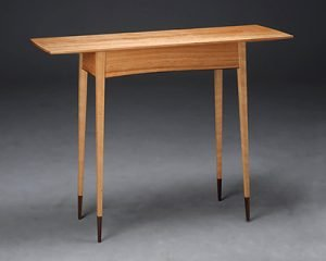 """Shaker Mama by Mike Korsak, cherry and Bolivian rosewood (14""""x42""""x32""""), 2011"""
