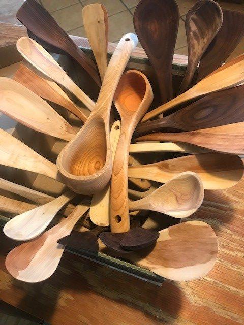Ken Wise spoon pile